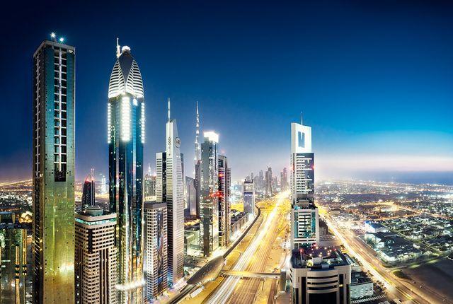 Дубай - Москва-Сити