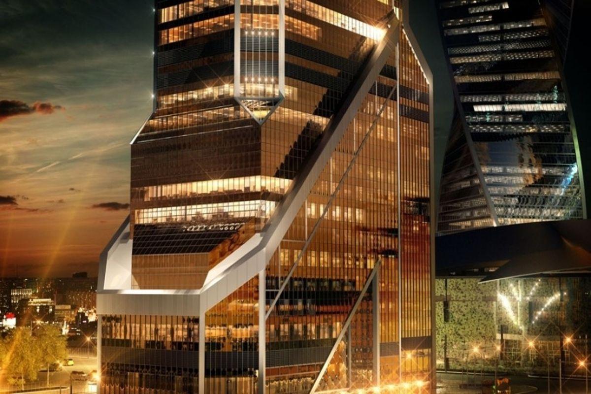 Фридом финанс арендовала офис в золотой башне Москва-Сити