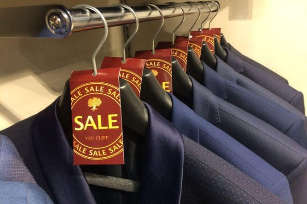 В Москве открылся магазин мужской одежды ценового сегмента «выше среднего» Van Cliff